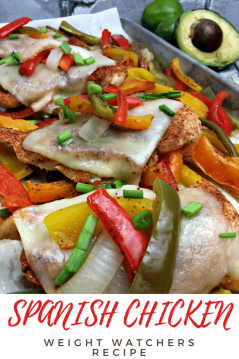 Spanish chicken weight watchers recipe