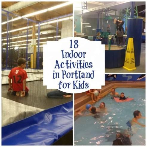 indoor activities in Portland OR