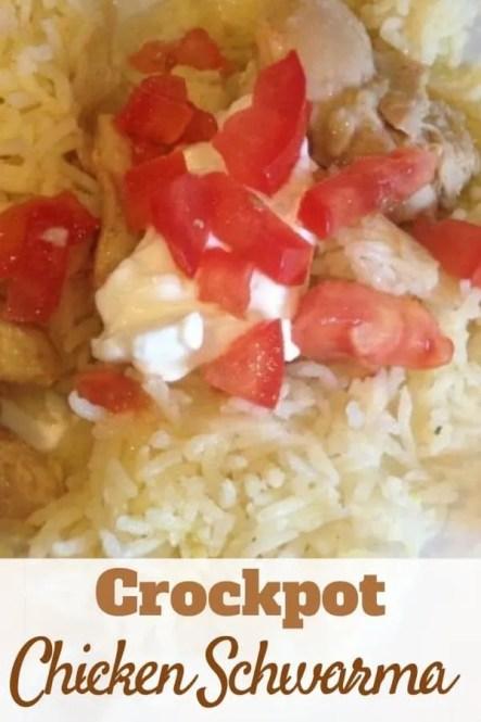 Crockpot Chicken Schwarma Recipe