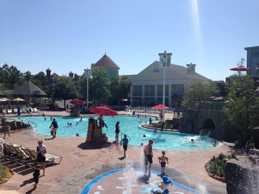 High Rock Spring Pool at Saratoga Springs a Disney World Timeshare