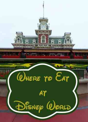 Where to Eat at Disney World