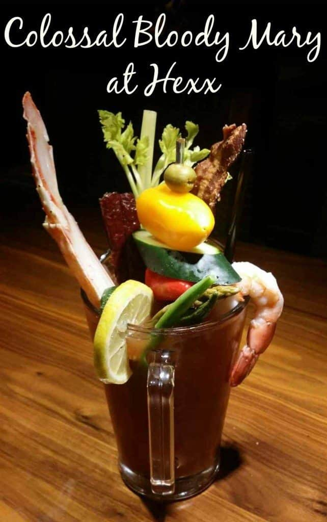 Colossal Bloody Mary at Hexx