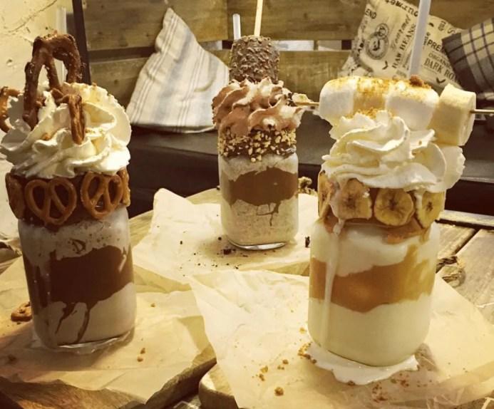 Eis Cafe milkshakes are some of the best milkshake in the world