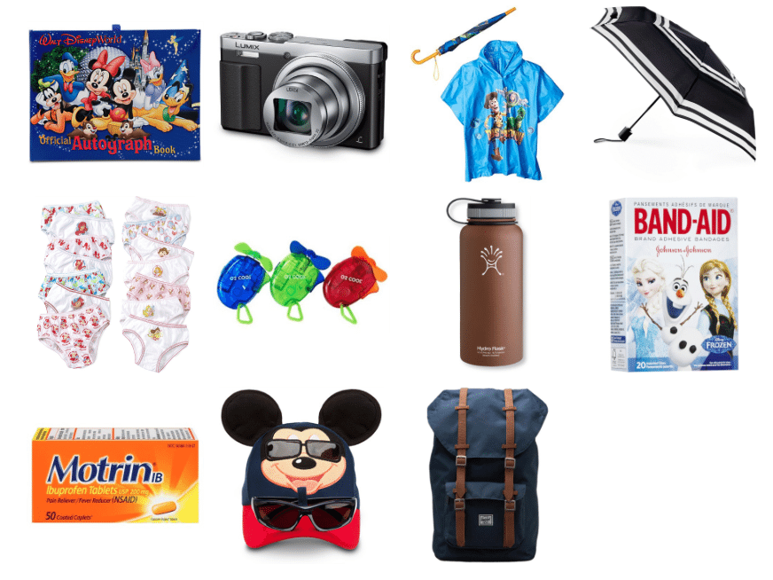 Don't leave without your Disney Backpack Packing Tips for your next Disneyland or Walt Disney World adventure! These tips will make your trip even easier!