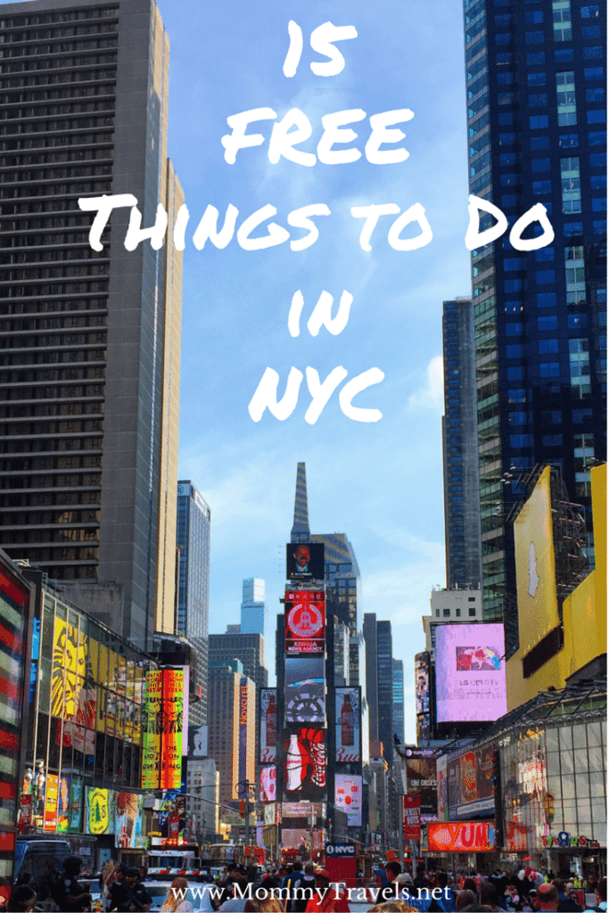 15 Free Things to do in New York City