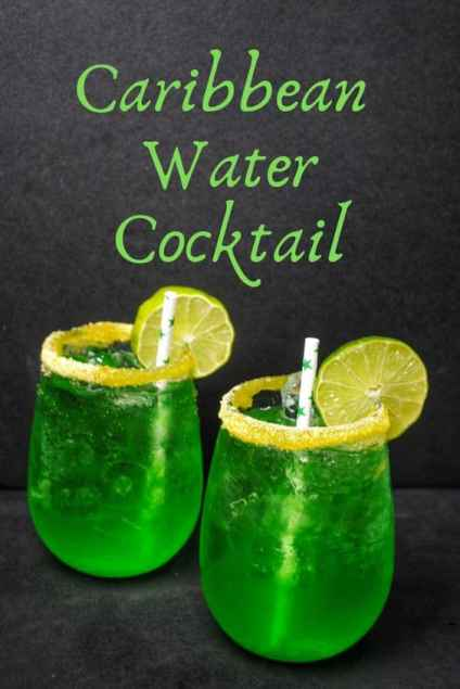 Caribbean water cocktail