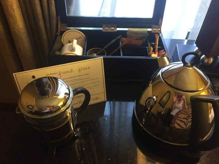 Heathman french press coffee