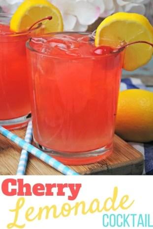Cherry Lemonade Cocktail Recipe