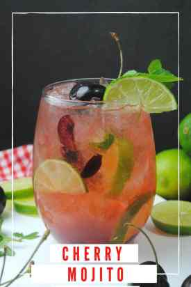 Cherry Mojito Recipe
