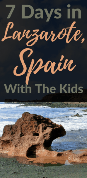Lanzarote Spain with kids - Here is a 7 day itinerary for Lanzarote, Spain to help you plan the entire trip.