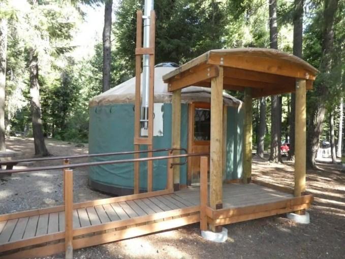 Suttle Lake Yurt - suttle lake camping