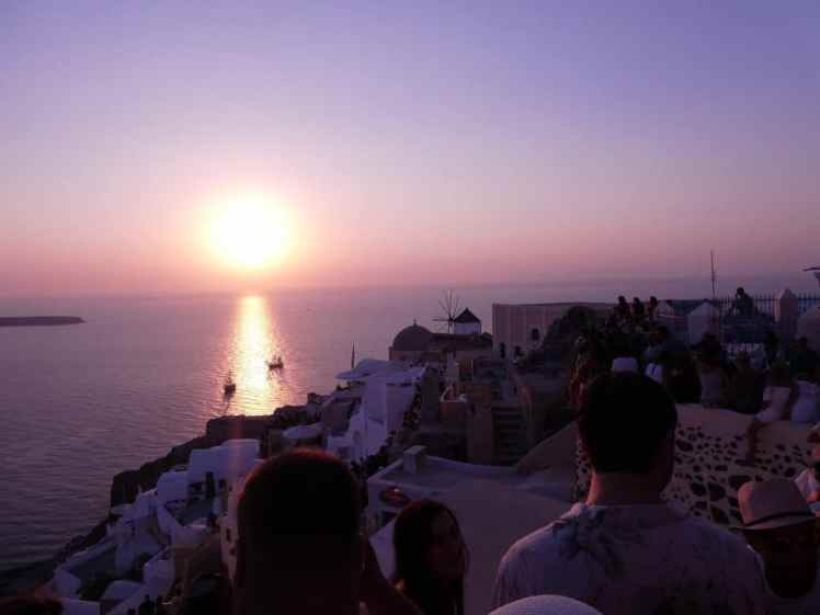 Oia Santorini Sunset
