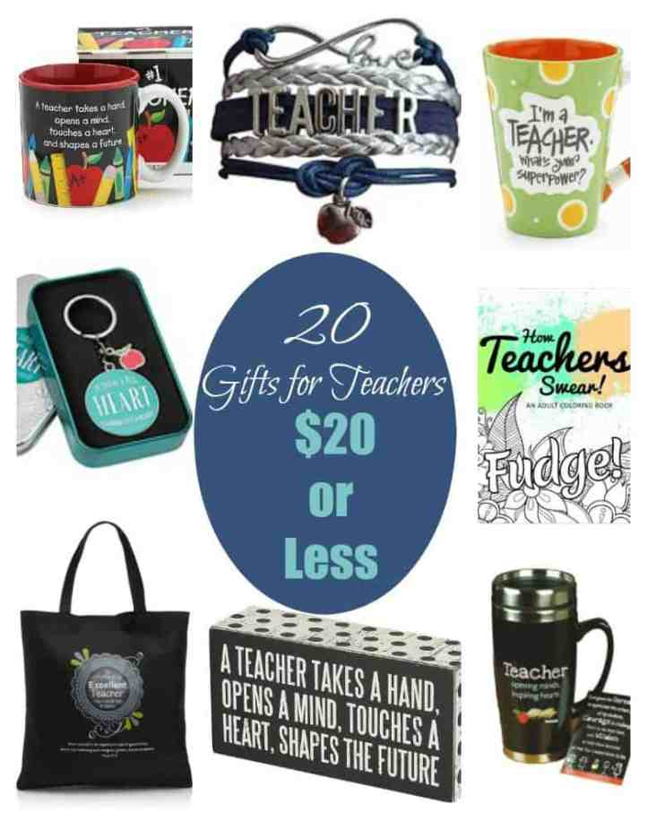 Gifts For Teachers: Check out our list of 20 Amazing Gifts For Teachers all under $20! These are ideal for gifting to your favorite teacher this year!