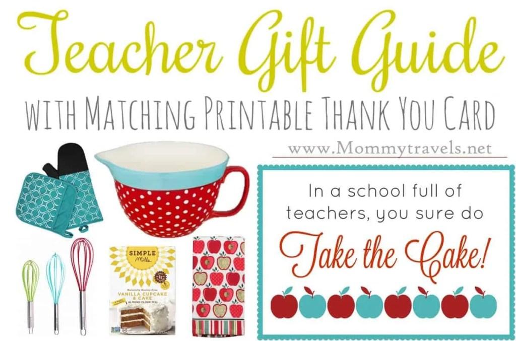 Teacher Gift Guide - Baking bundle