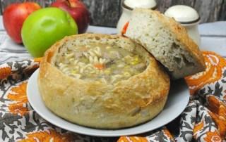 apple turkey soup