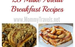 25 make ahead breakfast recipes