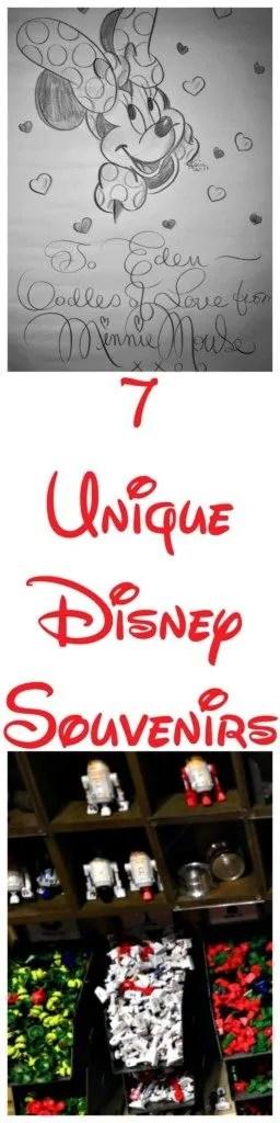 7 Unique Disney World Souvenirs to buy at Walt Disney World.