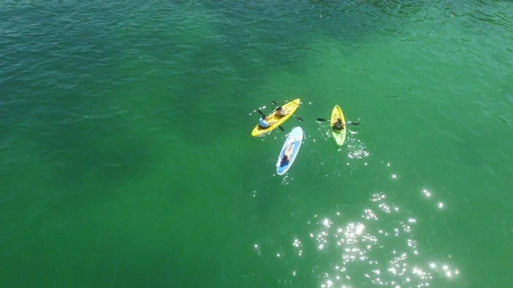 paddle board at Hotel Mousai