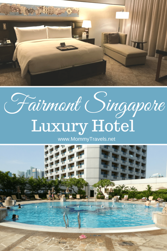 Fairmont Singapore is a family-friendly luxury hotel in Singapore