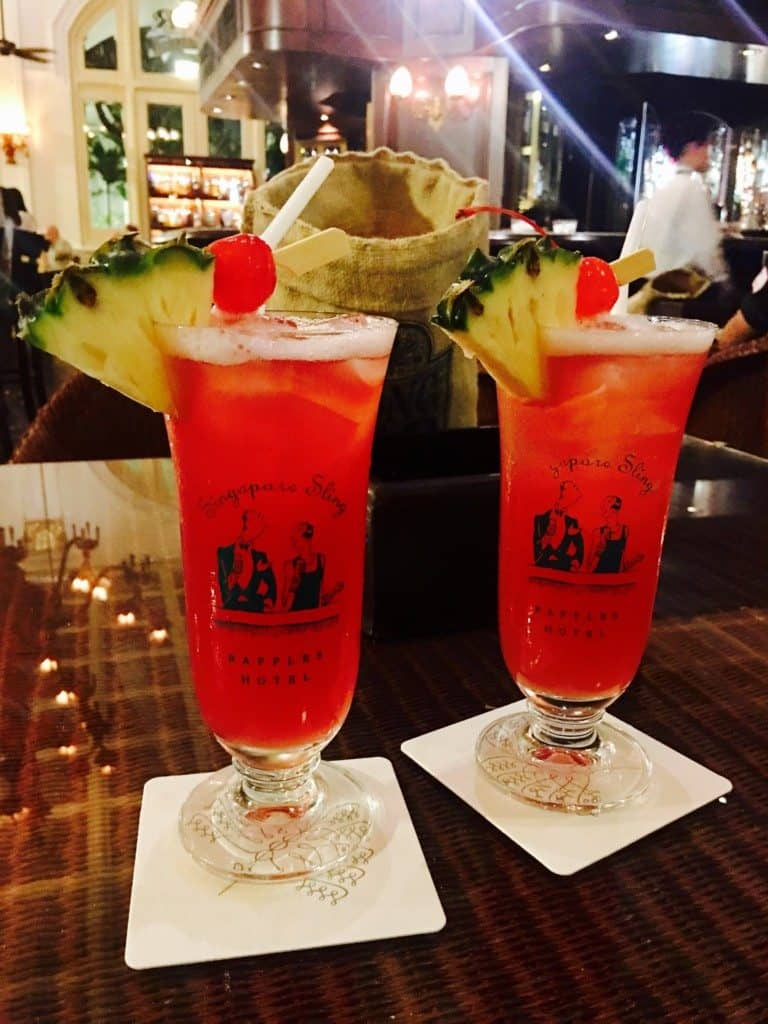 Have a Singapore Sling at Raffles hotel in Singapore, where it was invented.