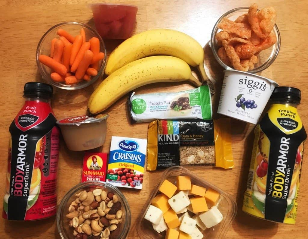 13 grab and go snacks