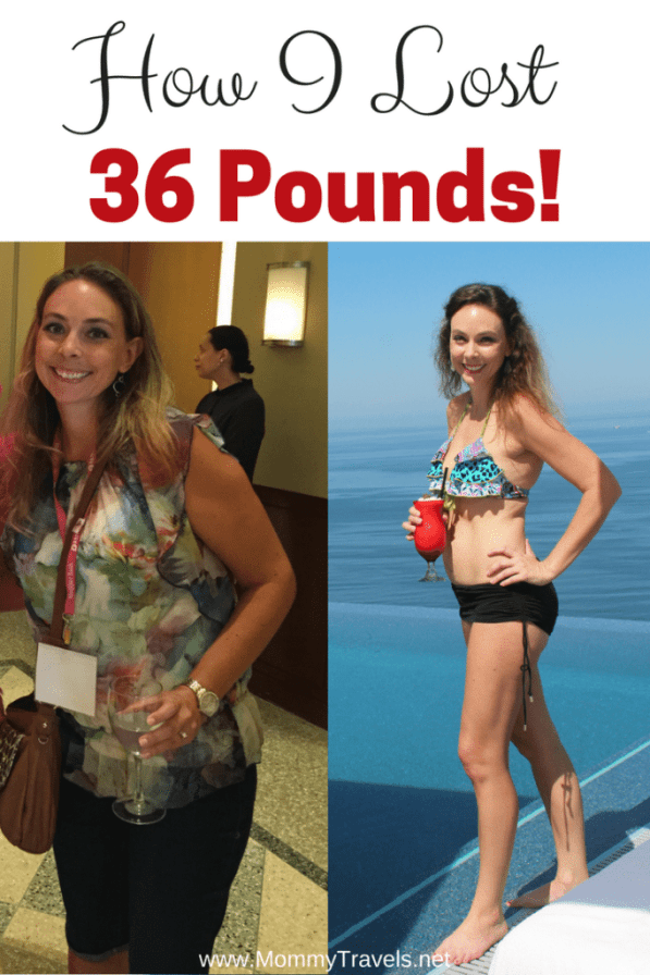 How I lost 36 Pounds!