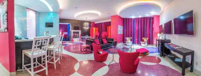 Hot Pink Suite at The Palms
