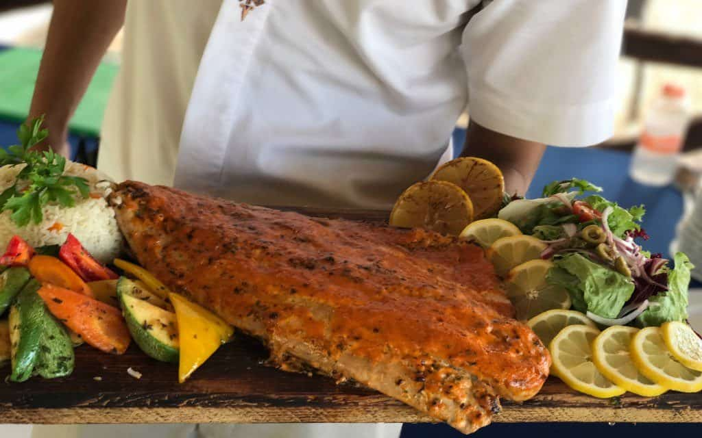 fresh fish at Fiesta Americana