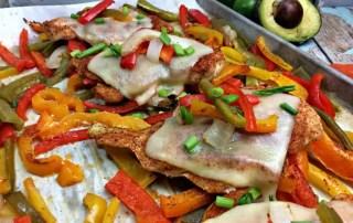 sheet pan spanish chicken