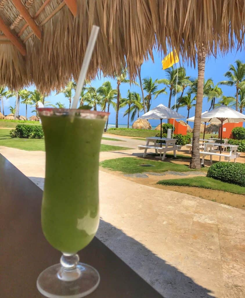 Frozen Mojito at Breathless Punta Cana