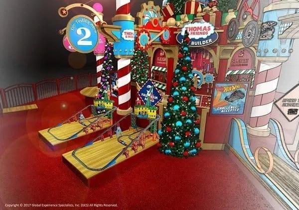 Santa at the Clackamas Mall