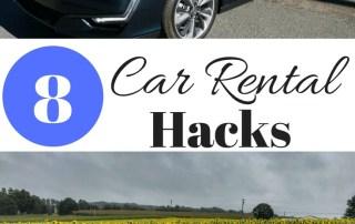8 Car rental hacks to save you lots of money!