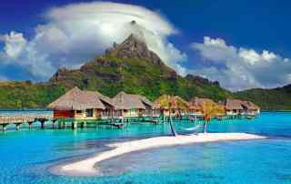 Bora, Bora is an incredible place to take a honeymoon