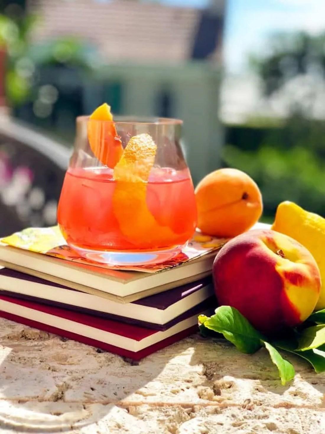 Apricot Negroni