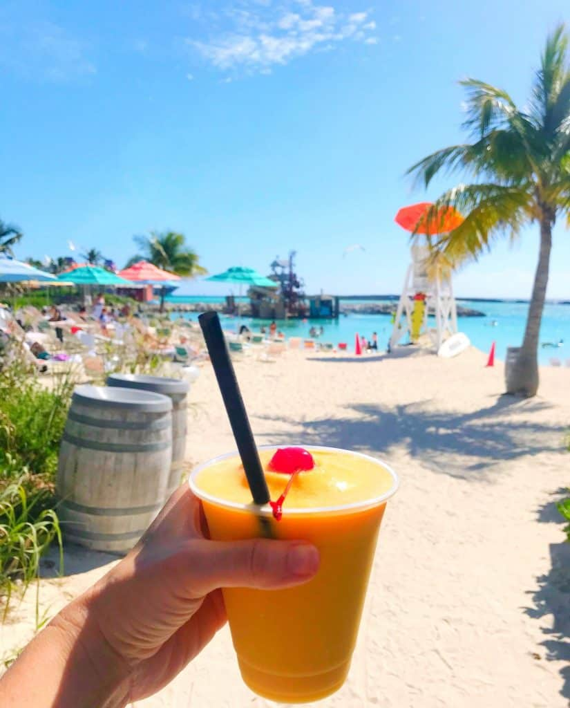 Castaway Cay Drink of the Day