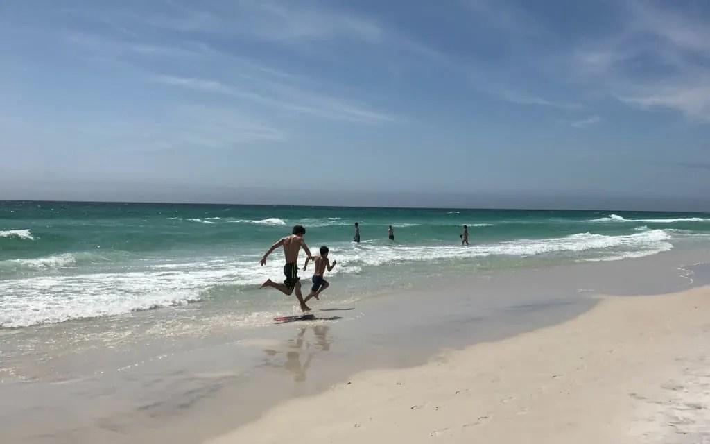 White beaches in Panama City Beach
