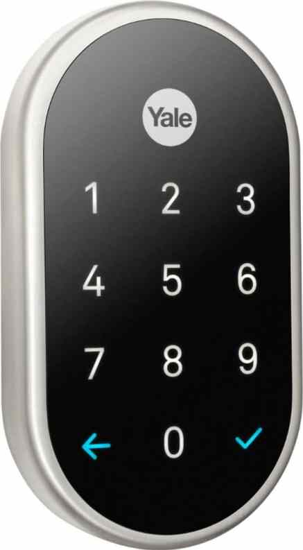 Nest Yale Lock a keyless entry system for homes.