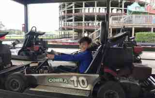 go karting at Cobra Adventure Park in Panama City Beach