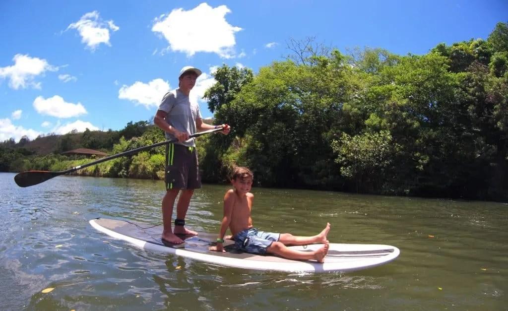 Paddleboard the Anahula River