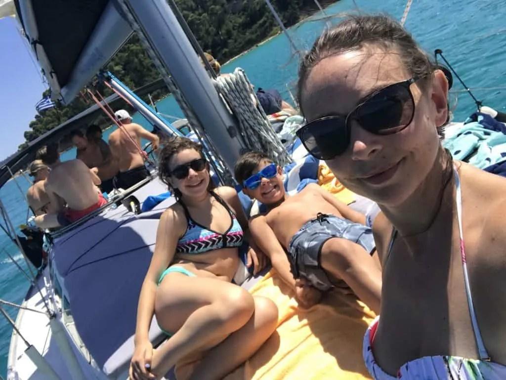 Day Sailing in Kassandra