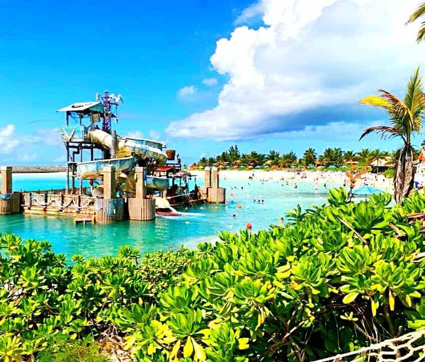 Castaway Cay Water Playgound.