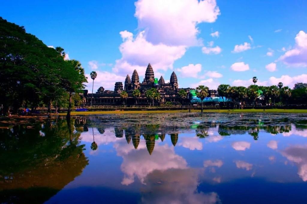 Angkor Wat with kids