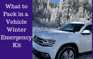 What to Pack in a Vehicle Winter Emergency Kit