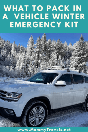 Winter Emergency Kit for your car