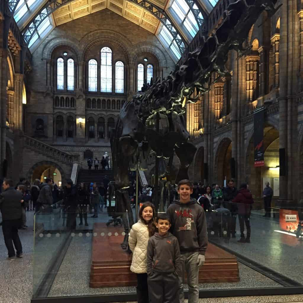 The Natural History Museum in London