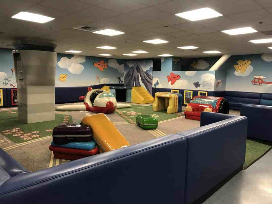 play area in the Seattle Airport