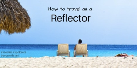 How to Travel as a Reflector