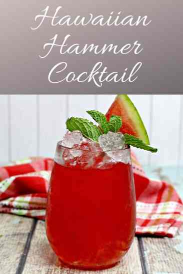 Hawaiian Hammer Cocktail