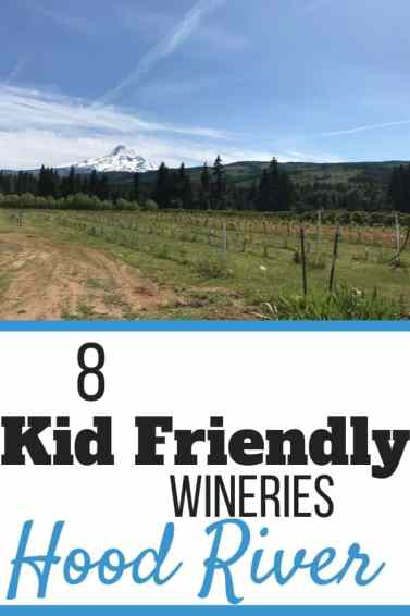 8 Kid Friendly Wineries in Hood River, Oregon