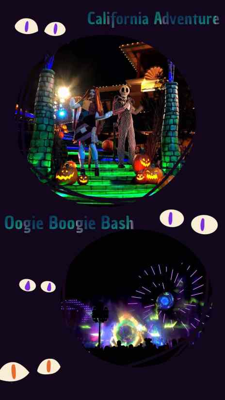 Oogie Boogie Bash at Disneyland